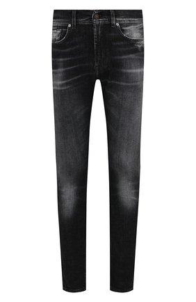 Мужские джинсы 7 FOR ALL MANKIND темно-серого цвета, арт. JSD4A550AS | Фото 1