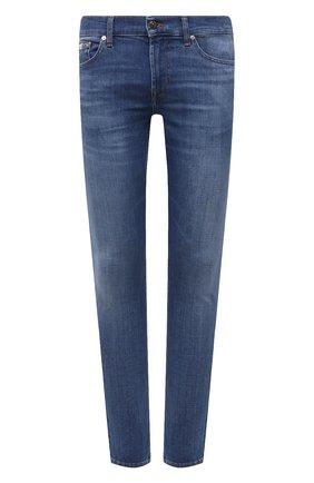 Мужские джинсы 7 FOR ALL MANKIND синего цвета, арт. JSD4B48ELI | Фото 1