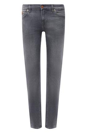 Мужские джинсы 7 FOR ALL MANKIND серого цвета, арт. JSD4B49ETF | Фото 1
