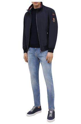 Мужские джинсы 7 FOR ALL MANKIND голубого цвета, арт. JSMXB530KL | Фото 2