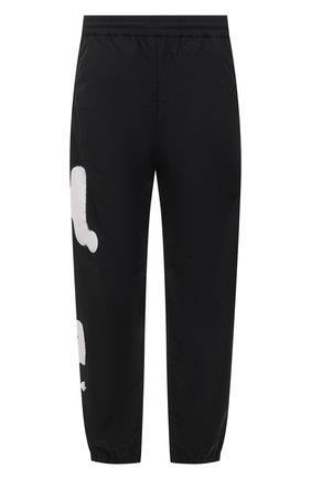 Мужские джоггеры HERON PRESTON черно-белого цвета, арт. HMCA014S21FAB0011001 | Фото 1