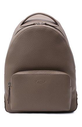 Мужской кожаный рюкзак TOD'S бежевого цвета, арт. XBMMDNG0300IAI | Фото 1