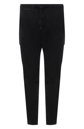Мужские хлопковые брюки-карго POLO RALPH LAUREN черного цвета, арт. 710835172 | Фото 1