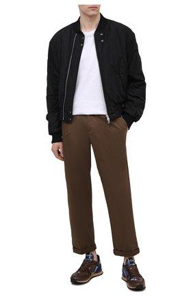 Мужские комбинированные кроссовки rockrunner VALENTINO коричневого цвета, арт. VY0S0723/TCC   Фото 2