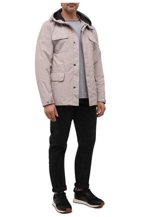 Мужские джинсы BRUNELLO CUCINELLI темно-серого цвета, арт. ME245X1290 | Фото 2