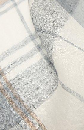 Шарф изо льна и шелка | Фото №2