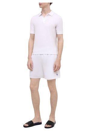 Мужские кожаные шлепанцы KNT темно-синего цвета, арт. USSK034N00444 | Фото 2 (Материал внутренний: Натуральная кожа; Материал внешний: Кожа)