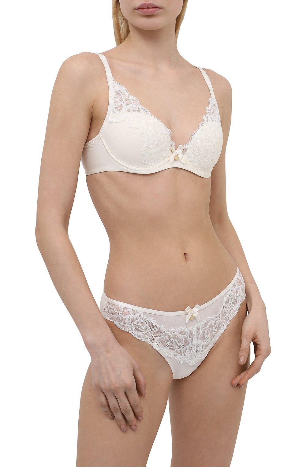 Женский бюстгальтер с плотной чашкой CHANTELLE белого цвета, арт. C67620 | Фото 2