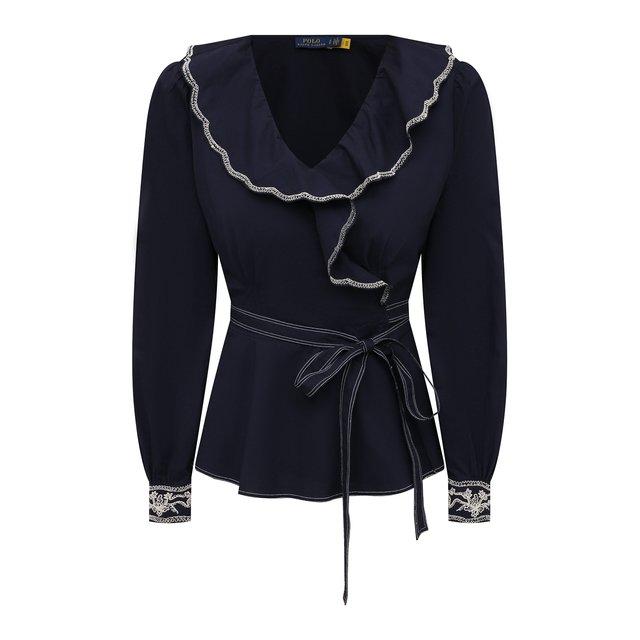 Хлопковая блузка Polo Ralph Lauren