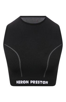 Женский топ HERON PRESTON черного цвета, арт. HWV0004R21KNI0011001 | Фото 1