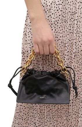 Женская сумка bom mini YUZEFI черного цвета, арт. YUZC0-HB-MB-00   Фото 2