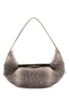 Женская сумка YUZEFI серого цвета, арт. YUZSS21-HB-FM-SN01   Фото 1