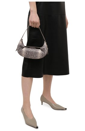 Женская сумка YUZEFI серого цвета, арт. YUZSS21-HB-FM-SN01   Фото 2