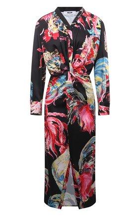 Женское платье MSGM разноцветного цвета, арт. 3042MDA133 217352 | Фото 1