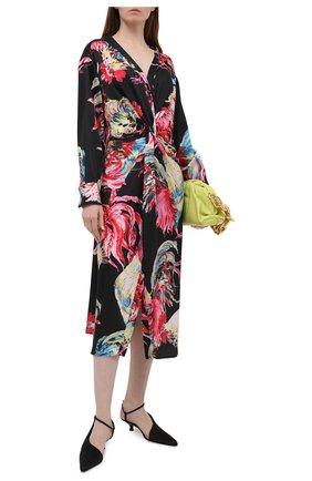 Женское платье MSGM разноцветного цвета, арт. 3042MDA133 217352 | Фото 2