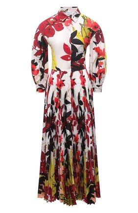 Женское хлопковое платье SARA ROKA разноцветного цвета, арт. LALAGE95/37-S2130 | Фото 1
