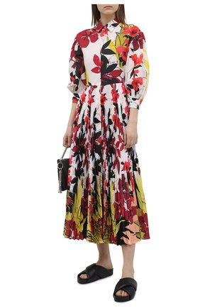 Женское хлопковое платье SARA ROKA разноцветного цвета, арт. LALAGE95/37-S2130 | Фото 2