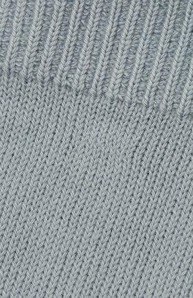 Женские хлопковые носки MAISON MARGIELA светло-голубого цвета, арт. S51TL0042/S17264 | Фото 2
