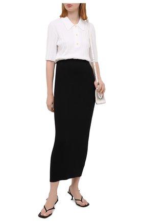 Женская юбка VINCE черного цвета, арт. V735983668 | Фото 2