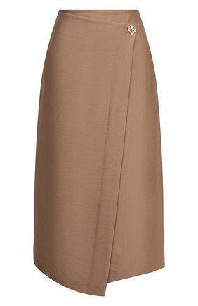 Женская юбка VINCE коричневого цвета, арт. V738130680 | Фото 1