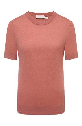 Женский кашемировый пуловер ZIMMERMANN розового цвета, арт. 9519TRB0T   Фото 1