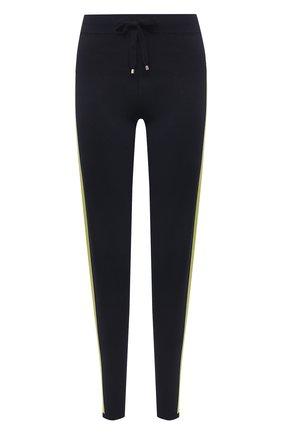 Женские брюки из вискозы LORENA ANTONIAZZI темно-синего цвета, арт. P21130PM002/2552 | Фото 1