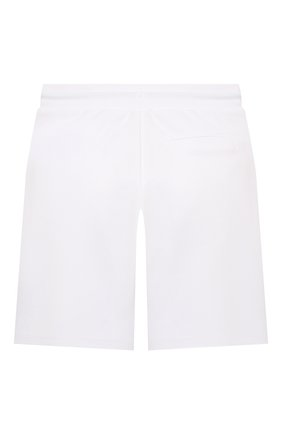 Детские шорты KARL LAGERFELD KIDS белого цвета, арт. Z24115   Фото 2