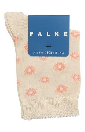 Детские хлопковые носки FALKE бежевого цвета, арт. 12972. | Фото 1