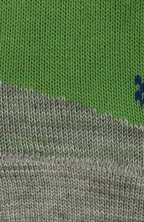 Детские носки FALKE зеленого цвета, арт. 10663. | Фото 2