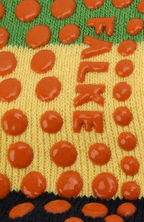 Детские носки FALKE зеленого цвета, арт. 12022. | Фото 2