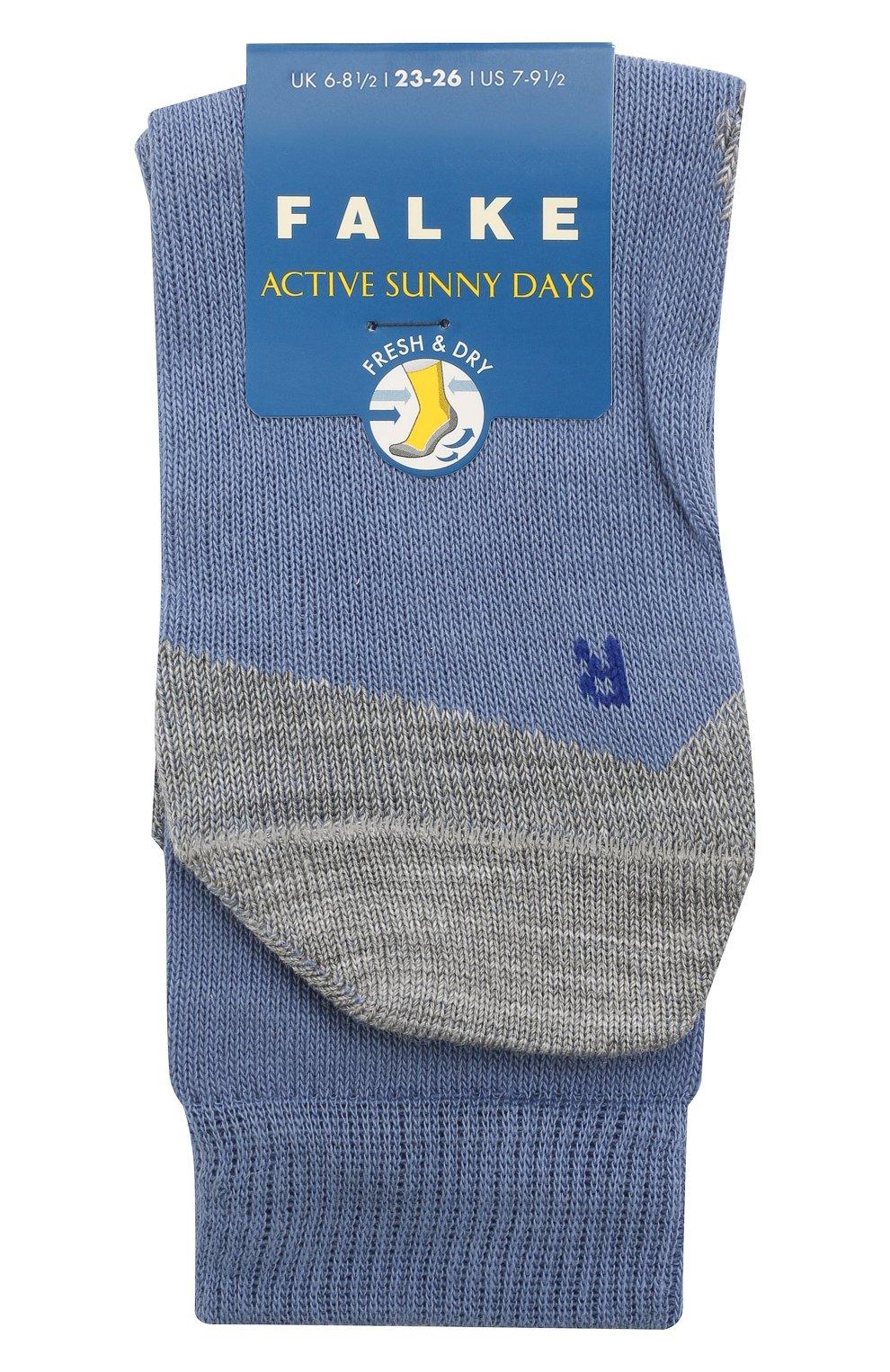 Детские носки FALKE синего цвета, арт. 10663. | Фото 1