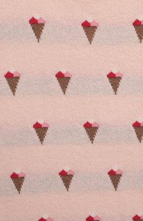 Детское хлопковый комбинезон LES LUTINS PARIS розового цвета, арт. 21E041/R0MY | Фото 3