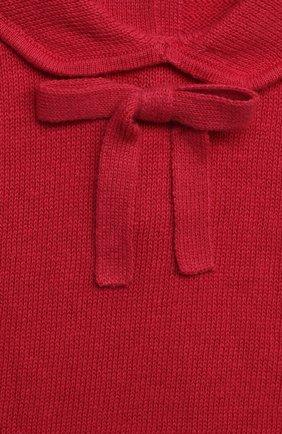 Детский хлопковый пуловер LES LUTINS PARIS фуксия цвета, арт. 21E049/AIDA   Фото 3