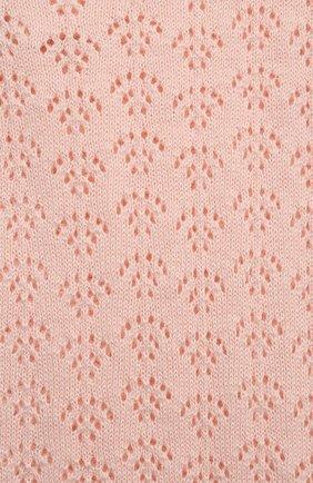 Детское хлопковый комбинезон LES LUTINS PARIS розового цвета, арт. 21E057/INES   Фото 3
