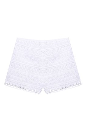 Детские хлопковые шорты CHARO RUIZ IBIZA белого цвета, арт. 2150/4-8 | Фото 1
