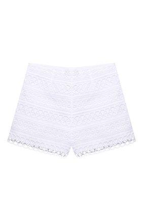 Детские хлопковые шорты CHARO RUIZ IBIZA белого цвета, арт. 2150/4-8 | Фото 2