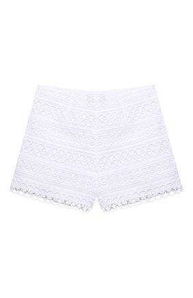 Детские хлопковые шорты CHARO RUIZ IBIZA белого цвета, арт. 2150/10-14 | Фото 1