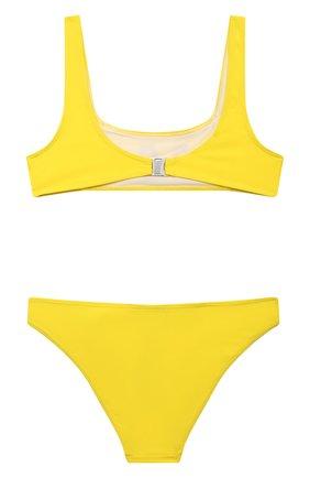 Детского раздельный купальник DSQUARED2 желтого цвета, арт. DQ0275-D000V | Фото 2
