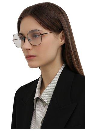 Женские оправа CAROLINE ABRAM черного цвета, арт. V0LIA 575   Фото 2 (Очки форма: Квадратные, Бабочка; Оптика Гендер: оптика-женское; Тип очков: Оправа)