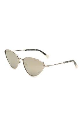 Женские солнцезащитные очки MISSONI серебряного цвета, арт. MIS0053 010 | Фото 1