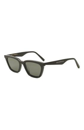 Женские солнцезащитные очки GENTLE MONSTER черного цвета, арт. AGAIL 01 | Фото 1