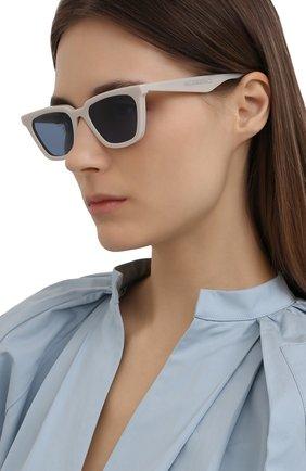 Женские солнцезащитные очки GENTLE MONSTER светло-серого цвета, арт. AGAIL G7 | Фото 2