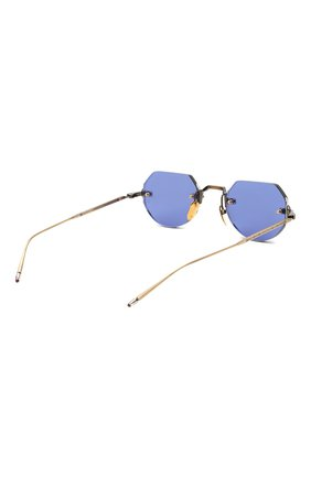 Женские солнцезащитные очки JACQUES MARIE MAGE синего цвета, арт. C0DY JMMCY-47 (II)   Фото 5 (Тип очков: С/з; Очки форма: Овальные, Круглые; Оптика Гендер: оптика-унисекс)