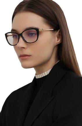Женские оправа CHOPARD темно-серого цвета, арт. 290S 721 | Фото 2