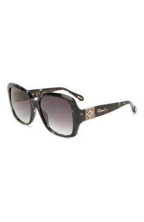 Женские солнцезащитные очки CHOPARD темно-серого цвета, арт. 288S 721 | Фото 1