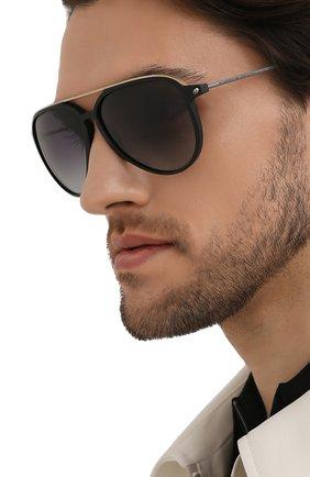 Мужские солнцезащитные очки PORSCHE DESIGN черного цвета, арт. 8912-A | Фото 2