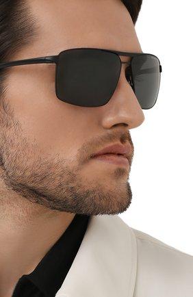 Мужские солнцезащитные очки PORSCHE DESIGN черного цвета, арт. 8918-A | Фото 2
