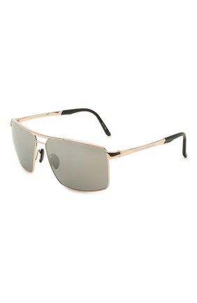 Мужские солнцезащитные очки PORSCHE DESIGN серого цвета, арт. 8918-C | Фото 1