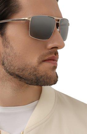 Мужские солнцезащитные очки PORSCHE DESIGN серого цвета, арт. 8918-C | Фото 2