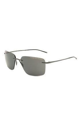 Мужские солнцезащитные очки PORSCHE DESIGN черного цвета, арт. 8923-A | Фото 1